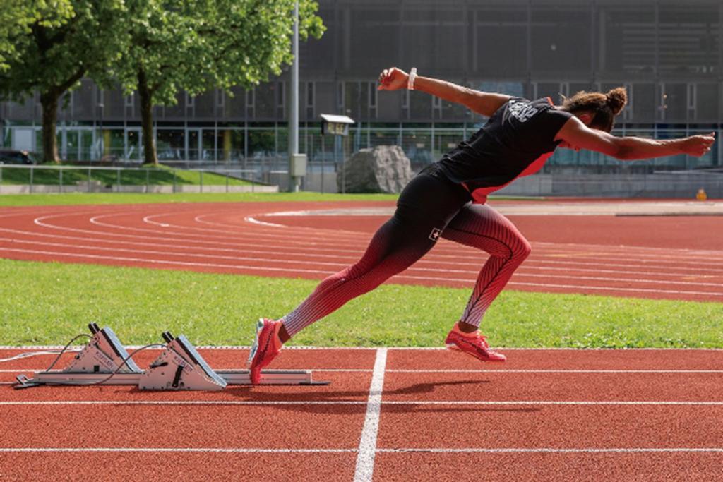 Kistler KiSprint帮助运动员提高运动表现
