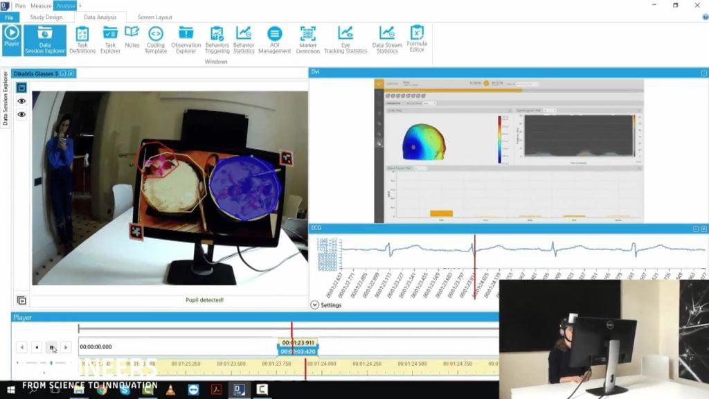 在D-Lab中测量和分析眼动和EEG数据