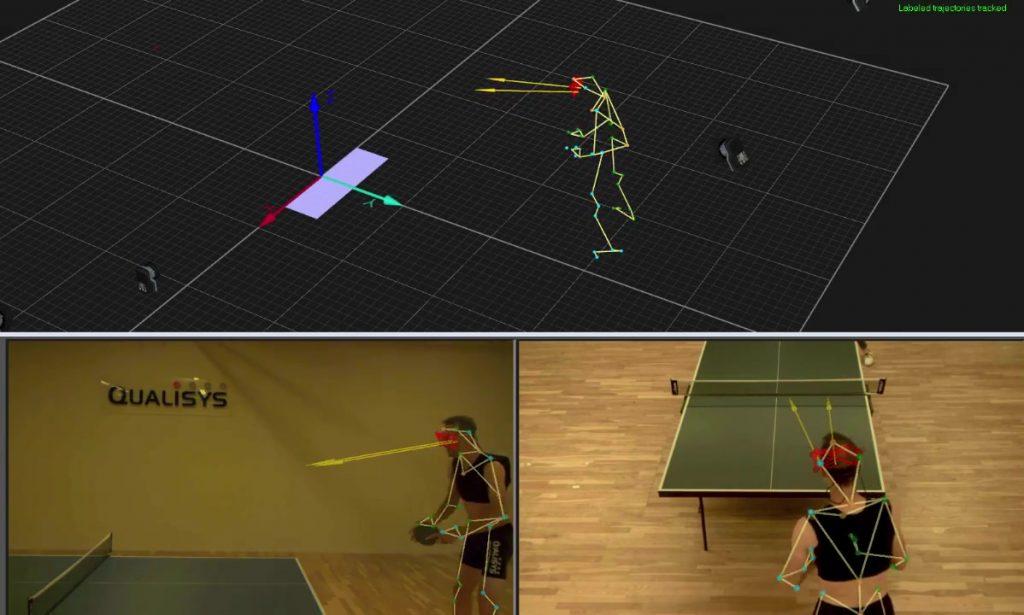 乒乓球-QTM中的眼动追踪