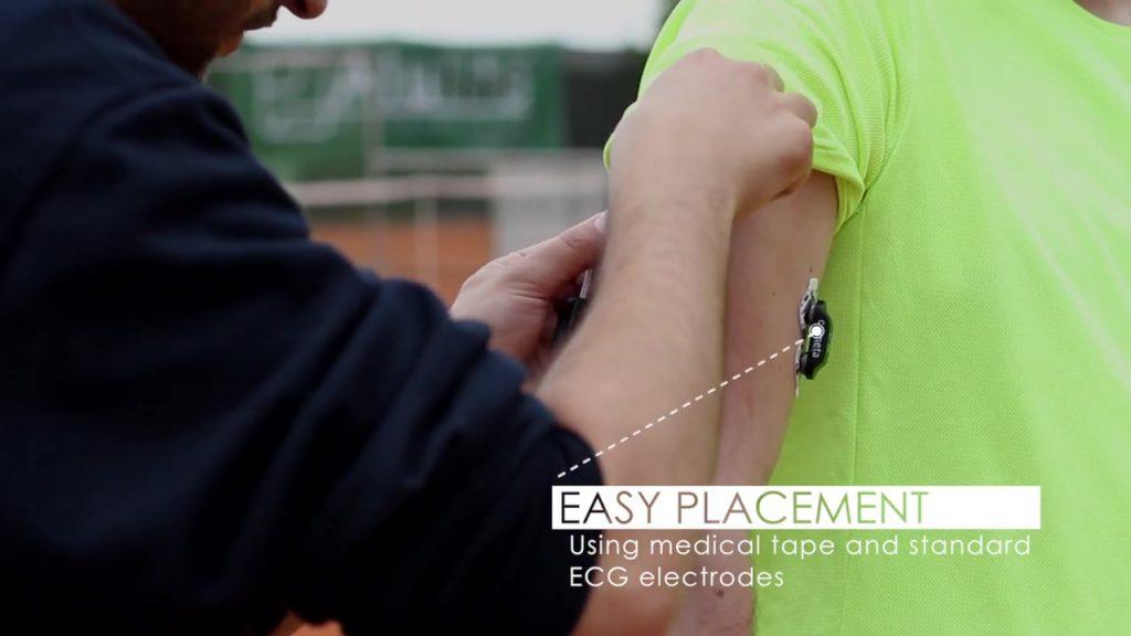 Cometa系统-网球训练中记录IMU和EMG
