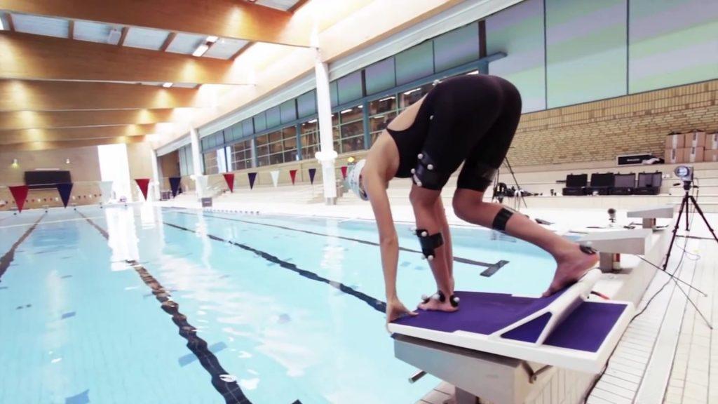 Qualisys水下动作捕捉系统-自由泳