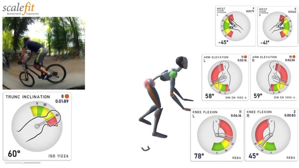 应用案例|三维动捕系统结合Scale Fit评估人体工效学