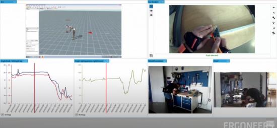 将惯性运动捕捉系统Xsens集成在D-LAB中