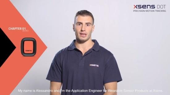 Xsens DOT 应用程序教程