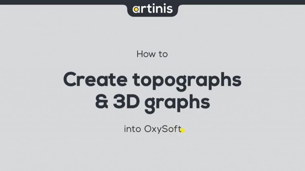 如何在OxySoft中创建3D图形