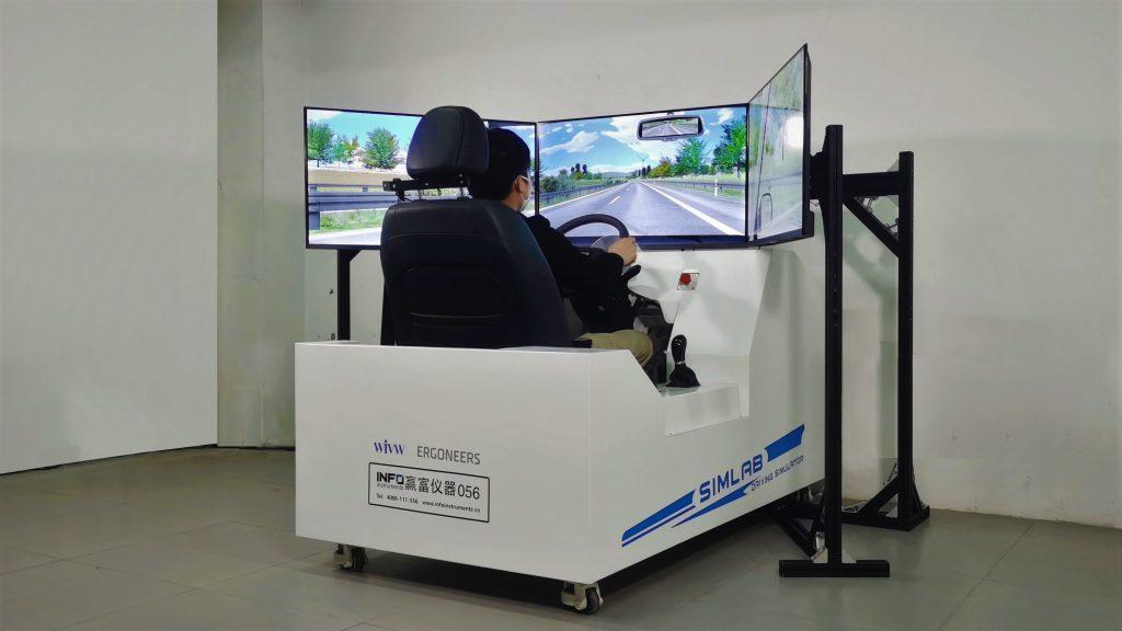 单座驾驶模拟器
