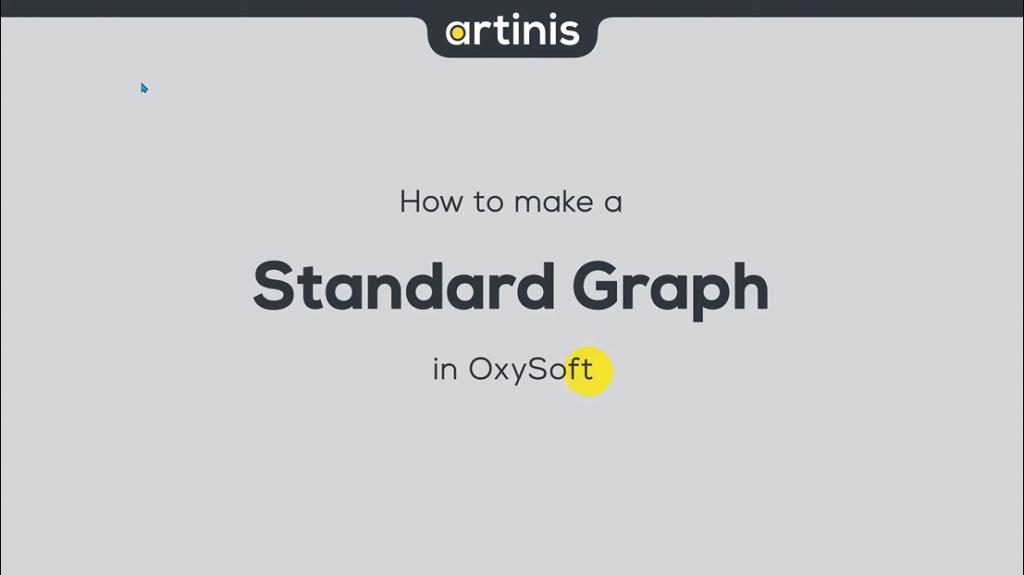 如何在OxySoft中制作标准图形